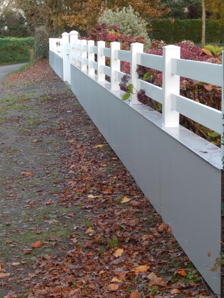 clôture personnalisée